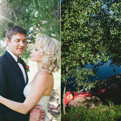 Ryan and Kindra: Park city wedding