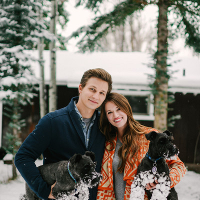 Trey and Mary Alice ||| winter light